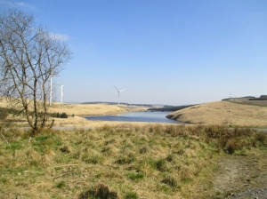 Lluest Wen reservoir