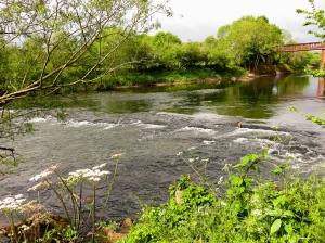 Wye River near the old Railway Bridge
