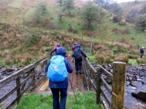 Crossing the Dringarth bridge