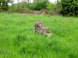 Old mounting block