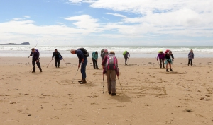 Competition on Rhossili Beach