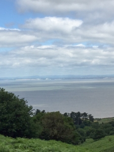 Views to south Wales Coast