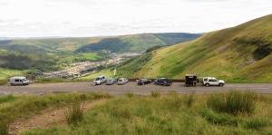 Viewpoint at Bwlch y Clawdd