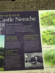 Castle Neroche information board