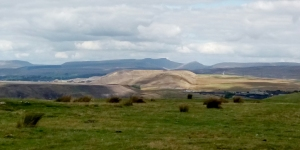 The Central Beacons from Carn Bugail