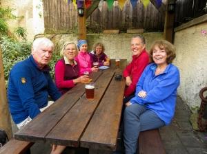 Group at The Star Inn