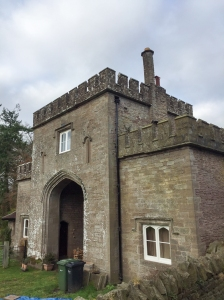Entrance to Kentchurch Court