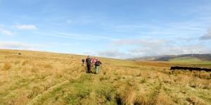 Ridgeway Mynydd Llangeinwyr