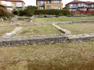 Roman remains Knap