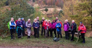 Group at Cwm Saerbren