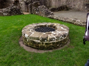 The well, Coity Castle