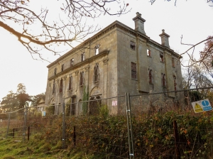 Ruined Piercefield House