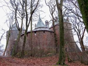 Rear of Castell Coch