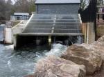 Radyr Weir Hydro turbines