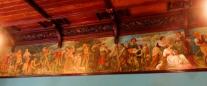 Painted frieze