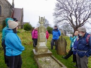 Hearing about Joseph Parry's Grave