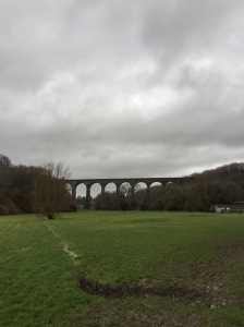 Starting off from Porthkerry Park
