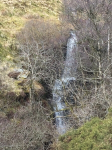 Waterfall on the way up to Craig y Fan Ddu