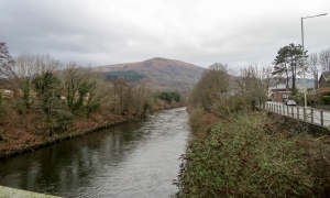 River Taff towards Craig yr Allt