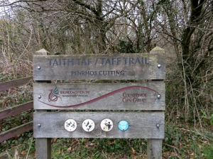 Back along the Taff Trail