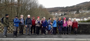 Penarth Ramblers in Rhondda Valley