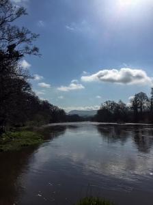 Sunshine on the River Wye