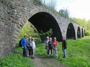 Viaduct on Rhymney Railway line
