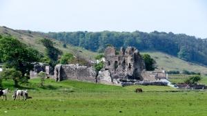 Ruined Ogmore Castle