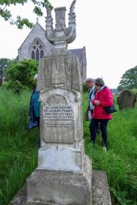 Joseph Parry's grave
