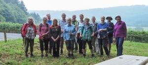 The gang at Slip Wood