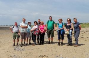 The Gang at Traeth yr Afon