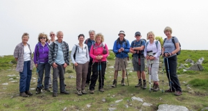 The gang at Pen Cerrig-calch