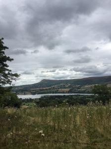 Overlooking Llangorse Lake from Allt yr Esgair