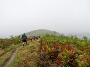 Craig yr Allt ridgeway