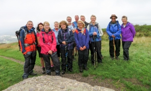 The gang at Caerphilly Mountain