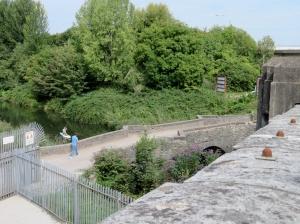 The old Leckwith Bridge