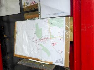 Maps at Broadstone telephone box