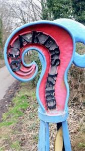Artwork at Quakers Yard