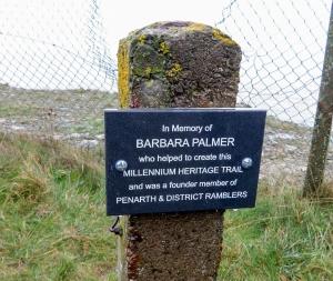 memorial to barbara palmer