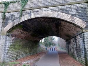 old taff vale railway line