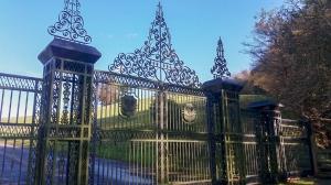 Gates to Bertholey Lodge