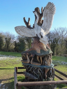 Sculpture at Cosmeston