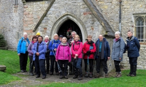The Gang at Merthyr Dyfan Church