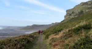 Coast path to Horton