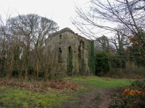 Ruined Candleston Castle
