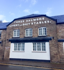 Three Salmons hotel at Usk