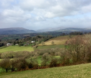 Blorenge Sugar Loaf and Black Mountains