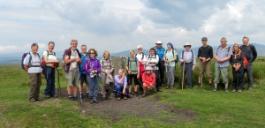 The Gang at Mynydd y Gaer