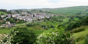 Overlooking Gilfach Goch