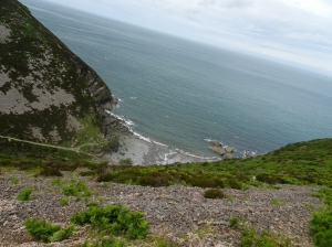 Overlooking Heddon's Mouth